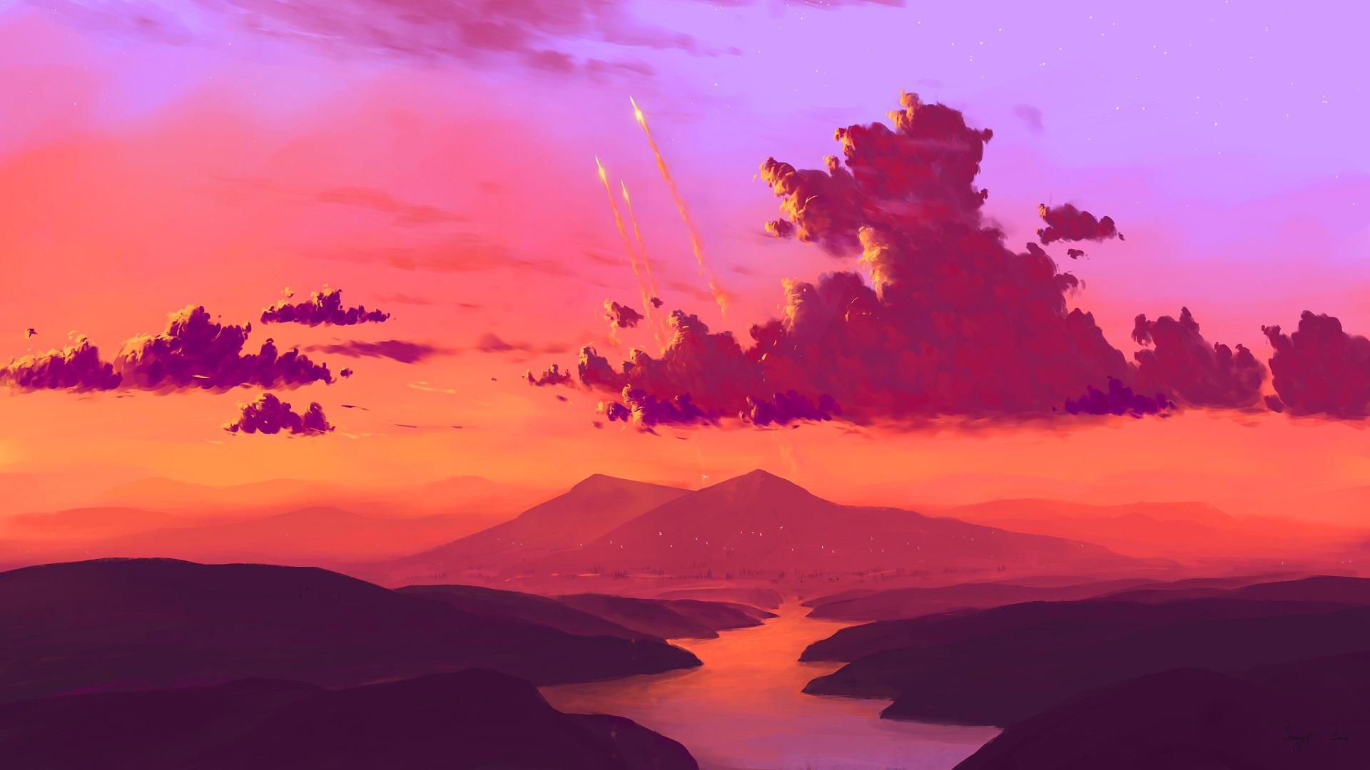 Mountain Lights