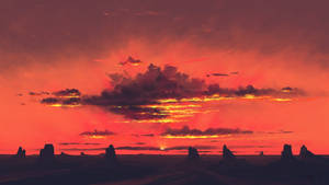 Twilight Clouds by BisBiswas