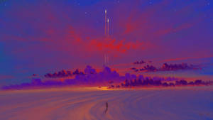 Desert Evening by BisBiswas