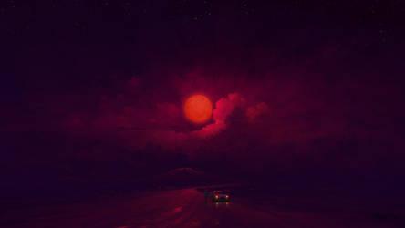 Vermilion Moon
