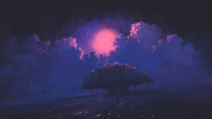 Resting Pink Moon