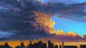 Storm Over City