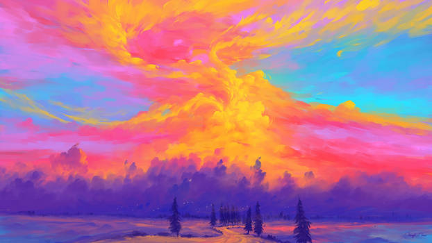 Burning Clouds
