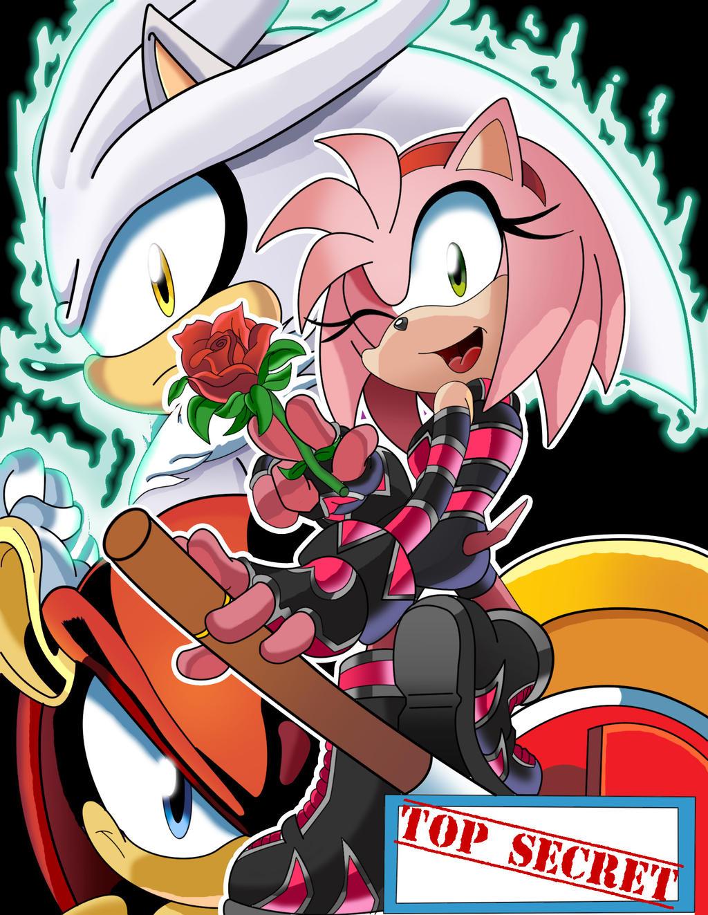 Sonic Universe Secret Rose fan cover (coloured) by leonarstist06