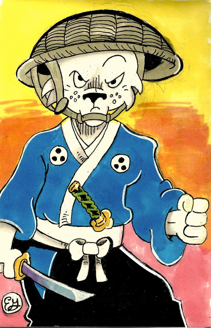 Usagi Yojimbo by leonarstist06
