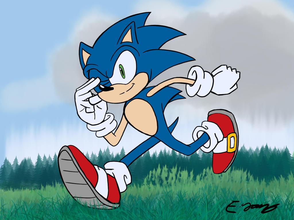 Sonic the Hedgehog's 24th Birthday by leonarstist06