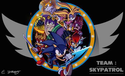 Team Skypatrol: Wallpaper by leonarstist06
