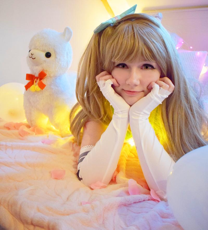 Kotori Minami Cheerleader 2 by DemonBeatz