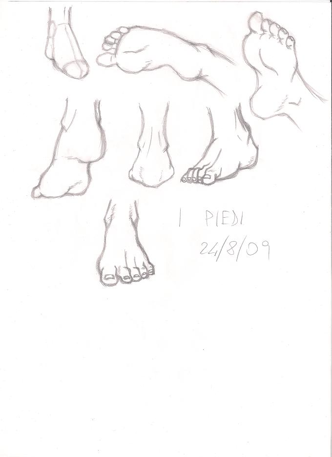 Foot study by Dex91