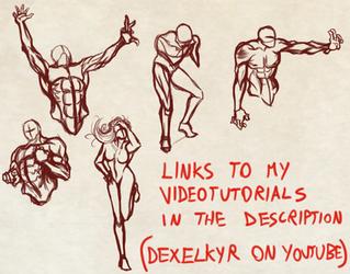 Quick Random Detailed Poses