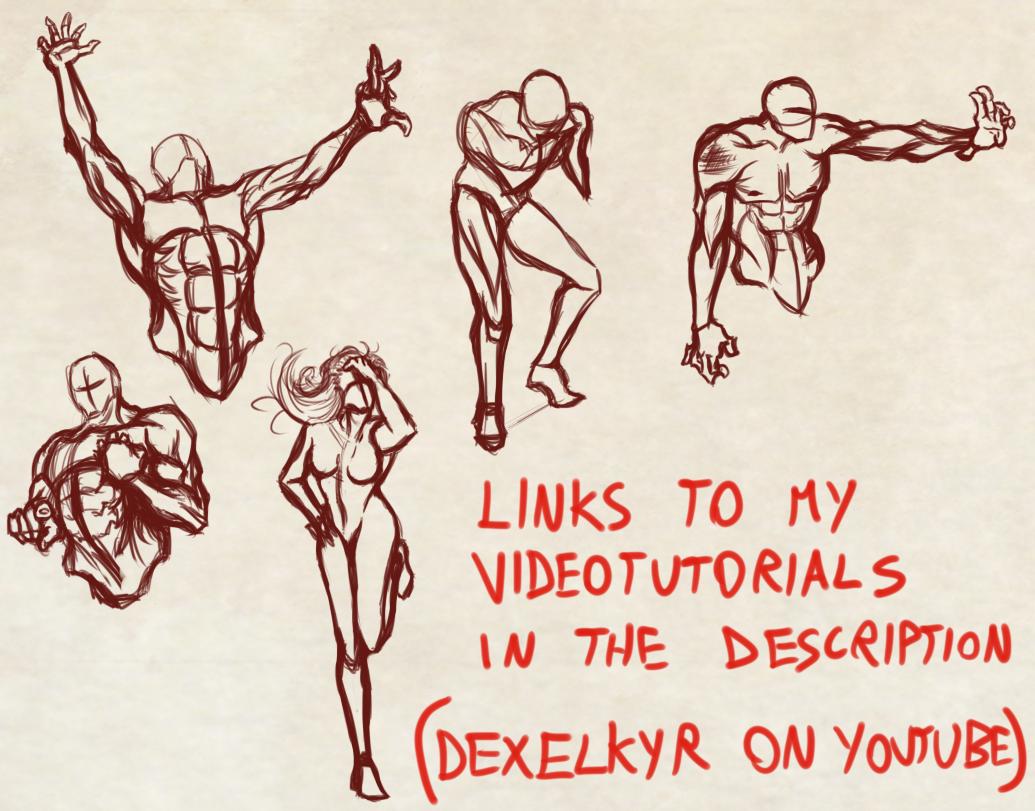 Quick Random Detailed Poses By Dex91 On Deviantart