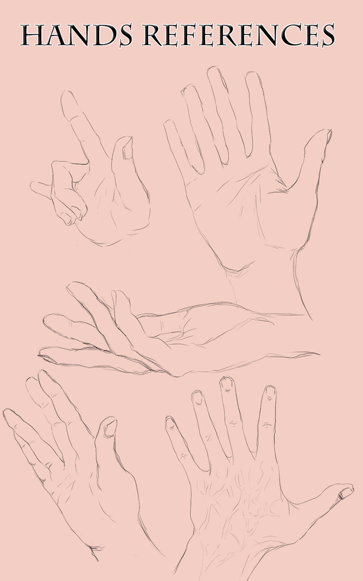 Drawing Hands [References] by Dex91