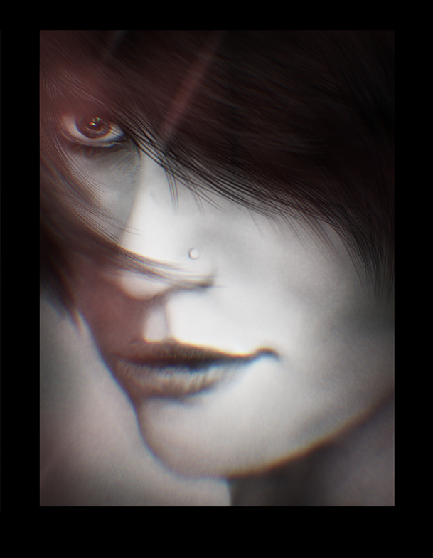 Another Face Digital Painting by Dex91