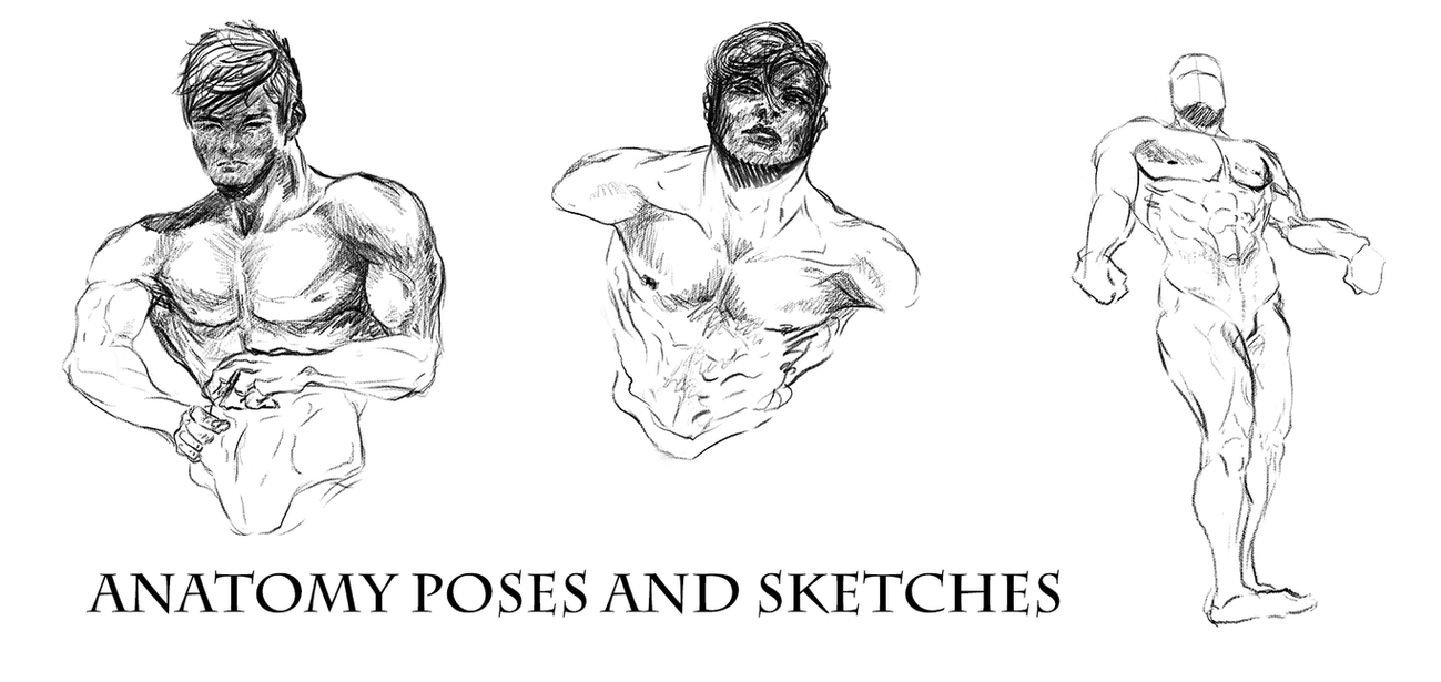 Usable As References Anatomy Poses And Sketches By Dex91 On Deviantart