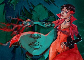 X-men - Scarlet Witch by byYorik