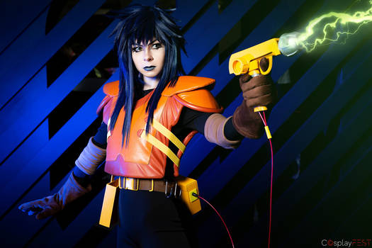 Extreme Ghostbusters - Kylie Griffin - Cosplay_2