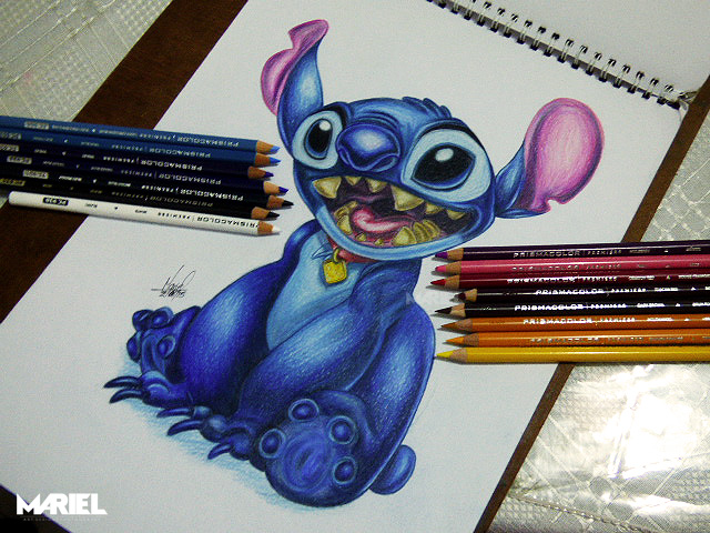 Stitch by MarielAcessArt