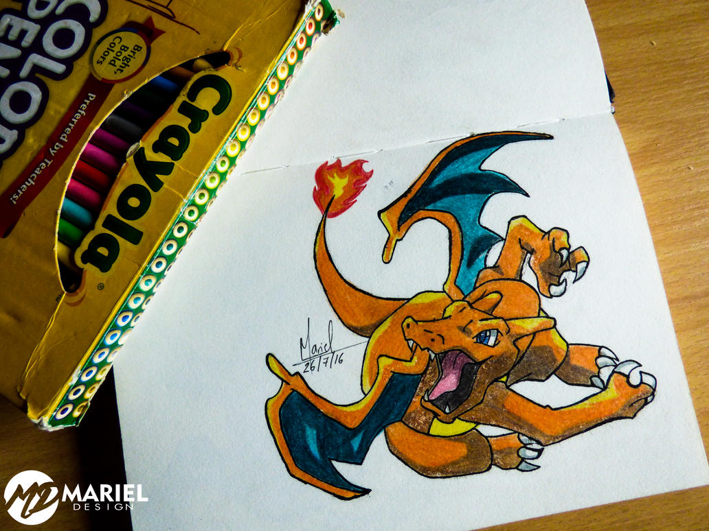 Charizar. Pokemon by MarielAcessArt