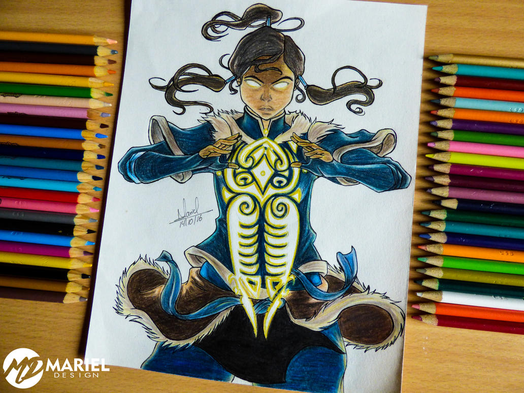 Korra. The legend of Avatar by MarielAcessArt