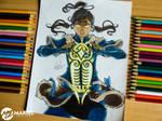 Korra. The legend of Avatar