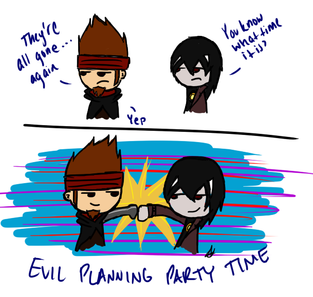 It's EVIL time by RexFangirl