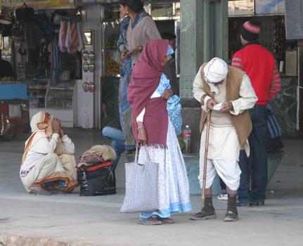 On Mathura Junction station