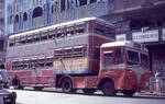 Articulated bus, Bombay by coshipi