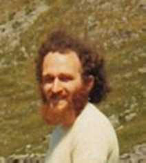 Cosh at Gordale Scar, 1976