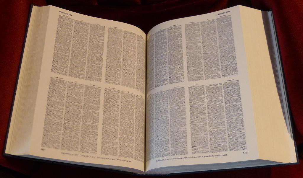 Oxford English Dictionary by coshipi on DeviantArt