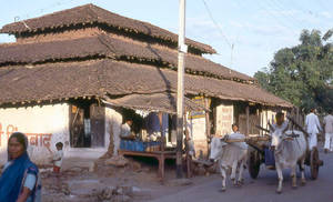 Village shop, central India by coshipi