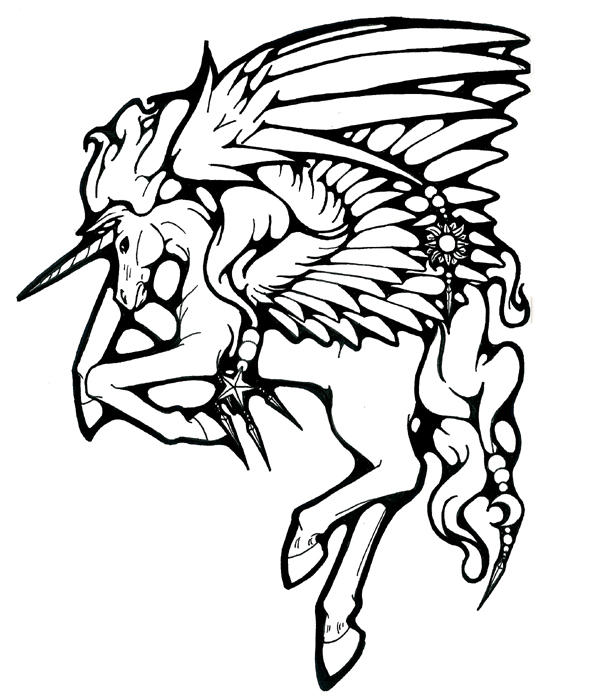 Pegacorn Coloring Pages Coloring Pages