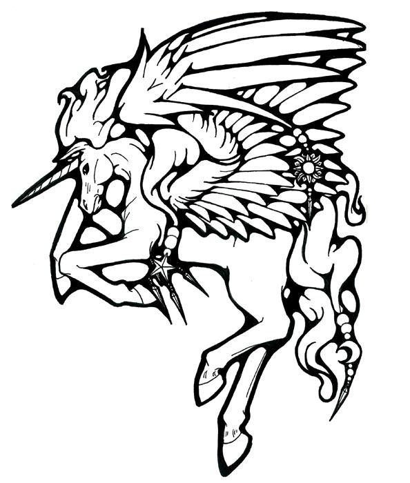 Mystical Pegasus Tattoo By Bishounenhunter On Deviantart
