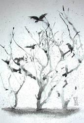 Murder of Crows by bishounenhunter