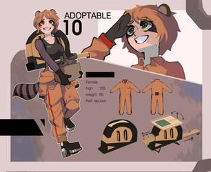 Adoptable--- (close) 10 by kaensak