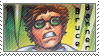 Bruce Banner Stamp by Nuclearpsychotic