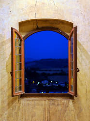 Castle Window to the Country