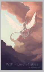 Lord of skies WIP by mythori
