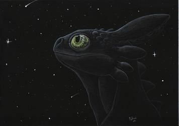 Toothless by mythori