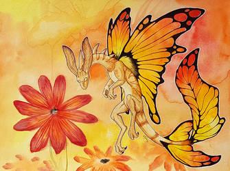 Fairy Dragon by mythori