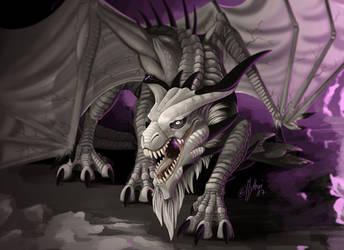 Shadowwyrm by mythori