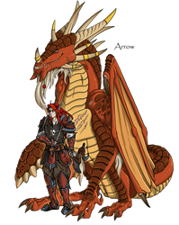Arrow by mythori
