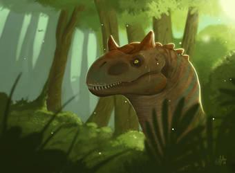 Dinosaur by mythori