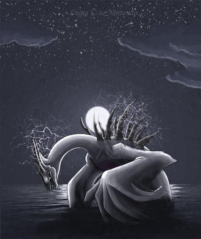 Raising god of water by mythori
