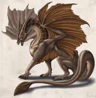 Posing earth-dragon by mythori