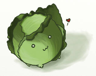 Cabbage by wyrdness