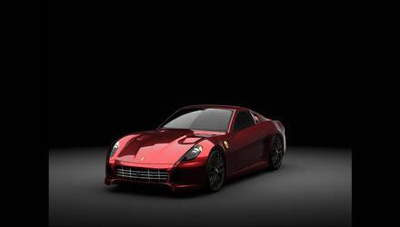 Ferrari 599 solidworks by alecstarc