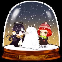 Snowglobe_Owkaii by d-clua