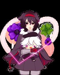 Valentine Plush-Crimsonalloy 1/2 by d-clua