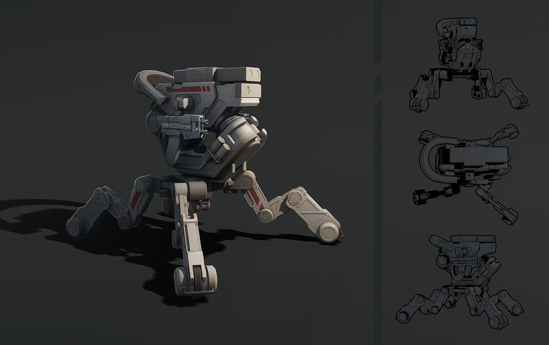 mech by SoundHunter