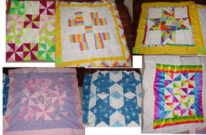 Newborns in need quilts by Naralim